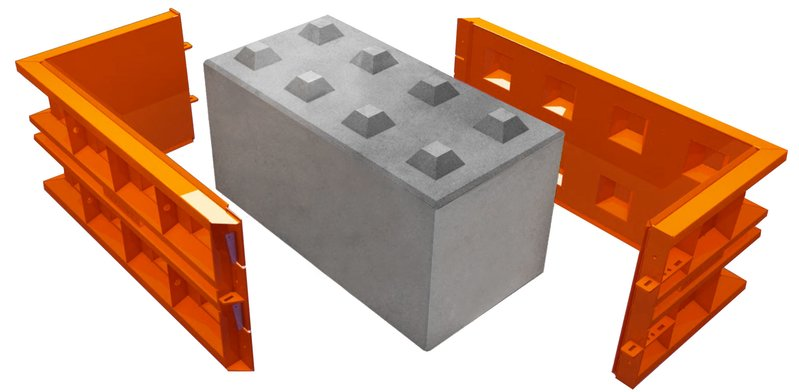 betonblock-mold-concrete-around-block